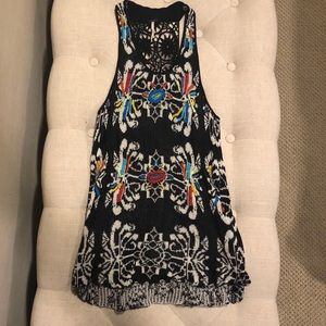 Free people colorful tunic size M